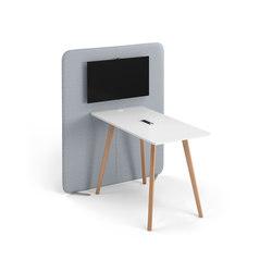 NET.WORK.PLACE Organic | AV tables | König+Neurath
