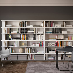 Spazioteca | SP028 | Shelving | Pianca
