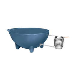 Dutchtub Original Pigeon Blue | Vasche outdoor | Weltevree