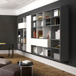 Spazioteca | Wall storage systems | Pianca