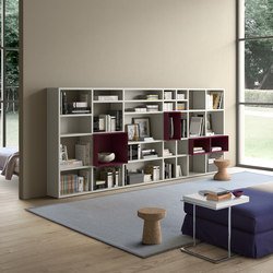 Spazioteca | SP027 | Shelving | Pianca