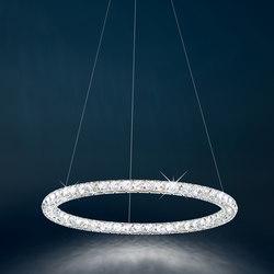 Circle LED Pendant | Suspended lights | Swarovski Lighting