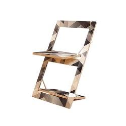 Fläpps Folding Chair | Criss Cross Grey | Sillas | Ambivalenz
