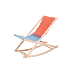 Beachrocker red/blue | Sun loungers | Weltevree