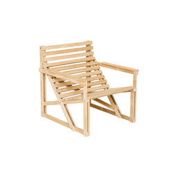 Patio Easy Chair Naked | Garden chairs | Weltevree