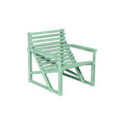 Patio Easy Chair Green | Garden chairs | Weltevree
