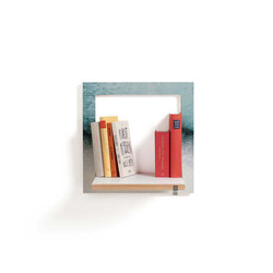 Fläpps Shelf 40x40-1 | Snowdreamer by Monika Strigel | Night stands | Ambivalenz