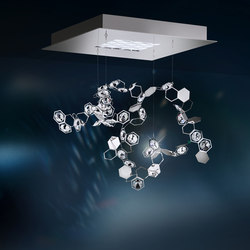 Crystalon LED Pendant | Suspended lights | Schonbek