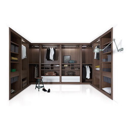Sipario | Walk-in wardrobes | Pianca