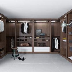 Sipario | Built-in cupboards | Pianca