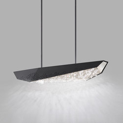 Glyph LED Pendant | Suspended lights | Swarovski Lighting