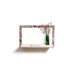 Fläpps Secretary Wall Desk | PS Collage 3 by Pattern Studio | Shelving | Ambivalenz