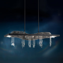 Sevetti LED Pendant | Suspended lights | Swarovski Lighting