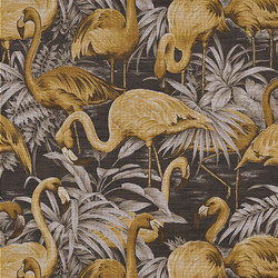 Curiosa Flamingo | Wall coverings / wallpapers | Arte