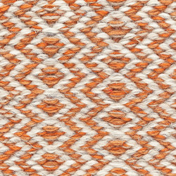 Ingrid Icon | Orange White 482 | Rugs | Kasthall