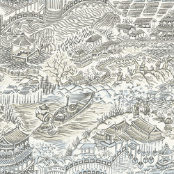 Curiosa Scenery | Wandbeläge / Tapeten | Arte