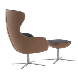 Duna-SWIV4P Swivel Armchair | Poltrone | Aceray