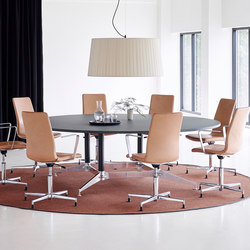 DO1100 Round Conference Table | Tables de conférence | Holmris Office
