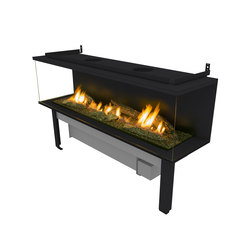FLA 3 XL Suite Logs | Ventless ethanol fires | Planika