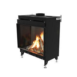 Monroe F | Front Glazing 900 | Closed fireplaces | Planika