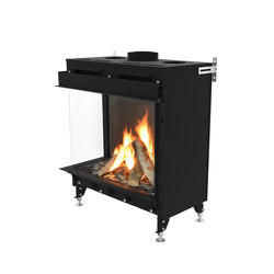 Monroe LF | Left/Front Glazing 900 | Gas fireplaces | Planika