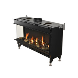 Valentino LF|Left/Front Glazing 1000/1300 | Gas fireplaces | Planika