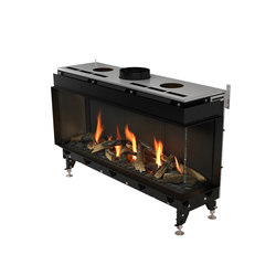 Valentino FR | Front/Right Glazing 1000/1300 | Closed fireplaces | Planika