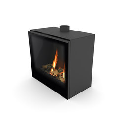 Versal Freestanding | Versal 600 | Closed fireplaces | Planika