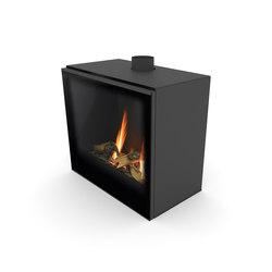 Versal Freestanding | Versal 600 | Closed fireplaces | Planika