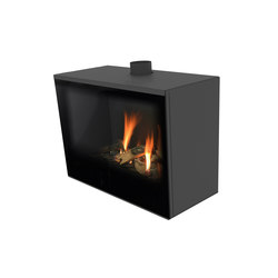 Versal Freestanding | Versal 750 | Closed fireplaces | Planika
