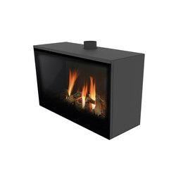 Versal Freestanding | Versal 900 | Closed fireplaces | Planika