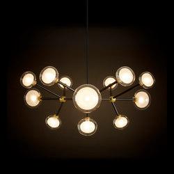 Nabila Chandelier | Lámparas de suspensión | Oggetti