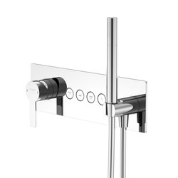 390 2242 Concealed single lever ¾"