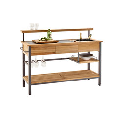 Butler Kitchen Trolley | Compact outdoor kitchens | solpuri