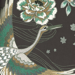 Takara Crane | Wall coverings / wallpapers | Arte