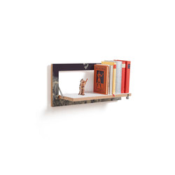 Fläpps Shelf 60x27-1 | Wild and Free by Ingrid Beddoes | Shelving | Ambivalenz