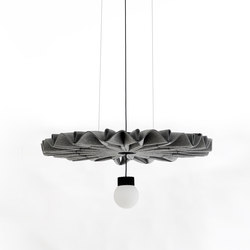 BuzziPleat LED | Suspended lights | BuzziSpace