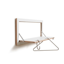 Fläpps Clothes Rail Hangrail | White | Shelves | Ambivalenz