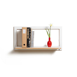 Fläpps Shelf 80x40-1 | White | Estantería | Ambivalenz