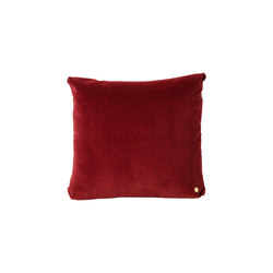Corduroy Cushion - Brick | Coussins | ferm LIVING