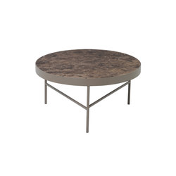 Marble Table - Brown Marble - Large | Side tables | ferm LIVING