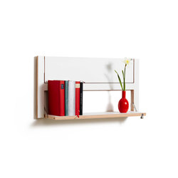 Fläpps Shelf 80x40-2 | White | Estantería | Ambivalenz