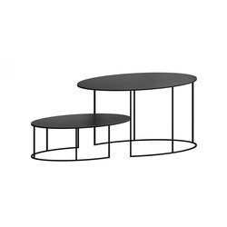 Slim Irony Oval | Tables basses | ZEUS