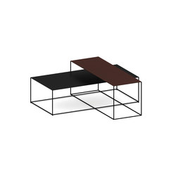 Slim Irony Low Tables | Mesas de centro | ZEUS