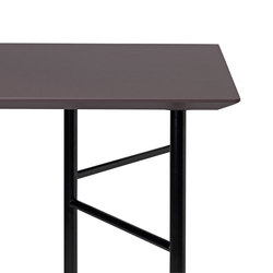 Mingle Desk Top 135 cm - Lino - Taupe | Tabletops | ferm LIVING