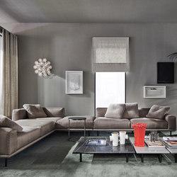 Timothy Sofa | Modular sofa systems | Meridiani