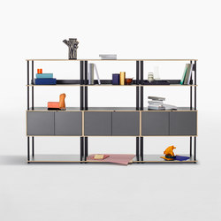 Studio shelving system | Office shelving systems | Bene