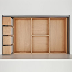 next125 Flex-Box of real wood | Kitchen organization | next125