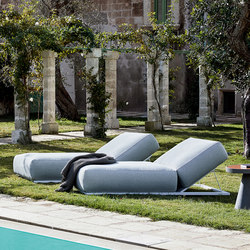 Claud Relax Lounge Bed | Bains de soleil | Meridiani
