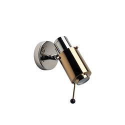 BINY   SPOT - BULB nickel/gold   Wall lights   DCW éditions